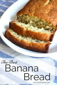 This family recipe for banana bread is so quick and easy to put together and the results are the  most delicious, moist banana bread you'll find. Click on the photo to read more.  I chose this source because it is simple and very well explained.
