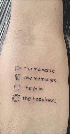 The 120 Best Written Tattoos to Get Inspired! Bff Tattoos, Little Tattoos, Mini Tattoos, Future Tattoos, Body Art Tattoos, Small Tattoos, Tatoos, Sharpie Tattoos, Friend Tattoos
