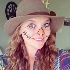 Scarecrow Halloween costume! Cheap and easy...just how I like my men.