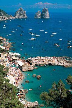 Marina Piccola, Capri.