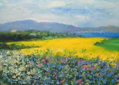 Original Irish Art Painting Connemara Ireland Landscape Homage to Paul Henry Irish Landscape, Ireland Landscape, Connemara Ireland, Irish Art, Impressionism, The Originals, Board, Painting, Ebay