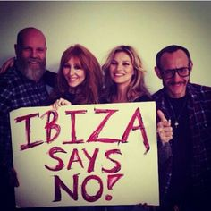 Kate Moss also says NO to posprecting for oil in Ibiza