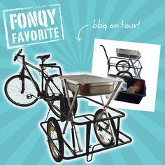 Geniet nu overal van een gezellige bbq met deze fietskar bbq! Binnen enkele seconden is de kar om te toveren tot een hoge houtskoolbarbecue. Met de meegeleverde koppeling en trekhaak koppel je hem aan de fiets en rij je naar het strand of mooie plek!