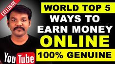 World Top 5 Ways To Earn Money Online Without Investment | 100% Genuine - WATCH VIDEO here -> http://makeextramoneyonline.org/world-top-5-ways-to-earn-money-online-without-investment-100-genuine/ -    tips on how to earn cash online  How To Earn Money Online Without Investment | 100% Genuine  This video will shows below the category: how to earn money online in tamil,how to make money online in tamil,Earn Money Online Without Investment in tamil,how to earn money Youtube in t
