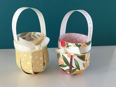 Easy Easter Basket Tutorial using Stampin' Up Products - YouTube