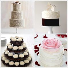 love the rose cake in the bottom right