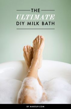A milk bath is basically what you need right now. In addition to their relaxation benefits, milk baths leave your skin feeling soft, refreshed and incredibly moisturized. Here's our guide to making a soothing milk bath at home! Beauty Care, Diy Beauty, Beauty Hacks, Nagellack Trends, Diy Spa, Beauty Recipe, Homemade Beauty, Spa Day, Beauty Secrets
