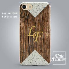 Custom Name Marble Phone case personalised wood iPhone 7 Iphone 8 Cases, Samsung Cases, Iphone 7, Apple Iphone, Samsung Galaxy, Personalized Phone Cases, Phone Cases Marble, Plastic Design, Marble Pattern