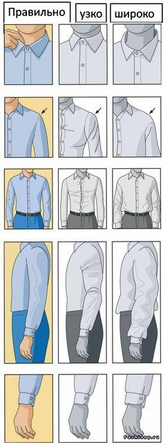 Мужчинам на заметку / как стильно подкатать рукава рубашки