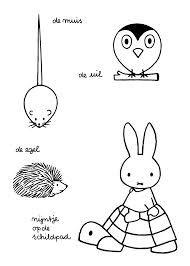 22 Beste Afbeeldingen Van Knutselen Draw Miffy En Appliques