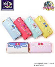 <Sailor Moon × Samansabega> Sailor Leather Long Wallet (SM WALLET *): Mitsukoshi-Isetan online store