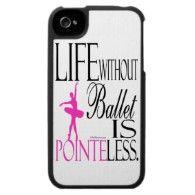 Ballet iPhone 4 Case - Pointeless