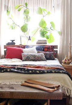 natural bedroom lighting