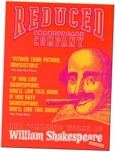 Reduced Shakespeare Company.  Complete Works