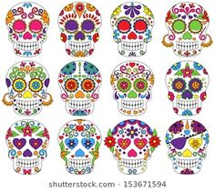Sugar Skull clipart calavera - pin to your gallery. Explore what was found for the sugar skull clipart calavera Day Of Dead, Day Of The Dead Party, Day Of The Dead Skull, Halloween Crafts, Halloween Decorations, Halloween Clipart, Halloween Logo, Halloween Sale, Halloween Candy