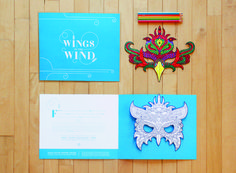 Wings in the Wind | Organization/Client Greteman Group, Wichita, KS; www.gretemangroup.com/ | Creative Team Sonia Greteman, art director; Meghan Smith, Marc Bosworth, designers/illustrators; Deanna Harms, Randy Bradbury, copywriters | Printer Donlevy Litho
