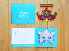 Wings in the Wind | Organization/Client Greteman Group, Wichita, KS; www.gretemangroup.com/ | Creative Team Sonia Greteman, art director; Meghan Smith, Marc Bosworth, designers/illustrators; Deanna Harms, Randy Bradbury, copywriters | Printer Donlevy Litho