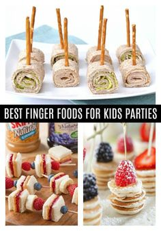 Toddler Birthday Party Finger Foods - Pretty My Party #fingerfood #fingerfoods #fingerfoodsforparty #fingerfoodideas