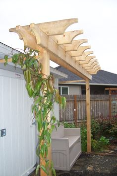 Suntuf And Cedar Patio Cover With Rain Chain In Southwest