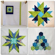4x5 Modern Quilt Bee - blocks made for me by Manda Made Quilts, via Flickr