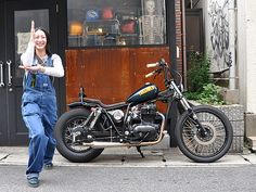カワサキ TR250 ストリートスナップ 吉岡 桂さん【STREET-RIDE】ストリートバイク ウェブマガジン