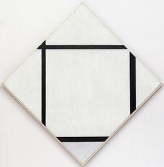 Piet Mondrian | Tableau I: Lozenge with Four Lines and Gray. 1926