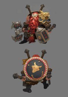 Dwarf Warrior #dwarf