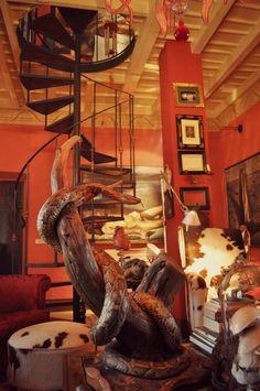 Studio of the artist: Agostino Arrivabene