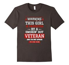 Men's This Girl Is Protected By A Veteran T-Shirt 2XL Asp... http://a.co/1ytrw8B