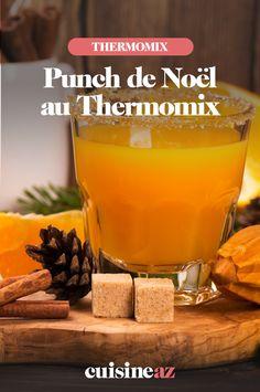Le punch de Noël au Thermomix est un délicieux cocktail avec ou sans alcool pour les fêtes de fin d'année.  #recette#cuisine#punch#cocktail #robotculinaire#thermomix #noel#fete#findannee #fetesdefindannee