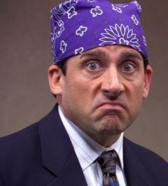 "Steve Carell as Michael Scott ""Prison Mike"" from The Office"