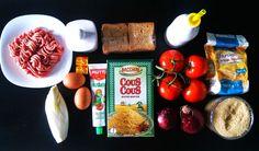 Ingredients for Arancini Couscous