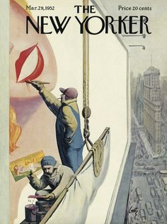 The New Yorker - Saturday, March 29, 1952 - Issue # 1415 - Vol. 28 - N° 6 - Cover by : Arthur Getz