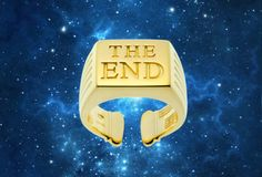 GOLDEN RING THE END by ToiletPaper