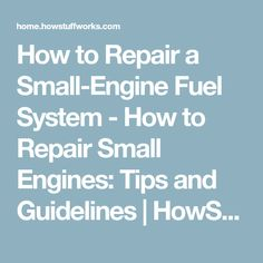 Diy wiring a consumer unit and installation distribution board how to repair a small engine fuel system how to repair small engines asfbconference2016 Image collections