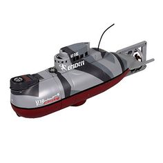 Radio Remote Control German Emden U16 Mini RC Submarine III R/C RTR