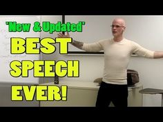 Best Speech You WIll Ever Hear (Updated) -Gary Yourofsky - YouTube.  Wow.  This changed my life.