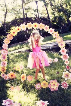 Fairy entrance - fairy party