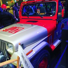 When I was 19 I wanted this Jeep Sooooooo badly. #jurassicpark #jeepwrangler #bfgoodrich #PGW