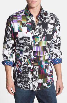 "Robert Graham Men's NWT ""Sir Neil"" Limited Edition Print Shirt Size 2XL $398…"