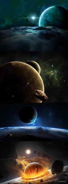 Distant Planet 3D