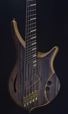 Jillard Guitars Armada 5 bass prototype