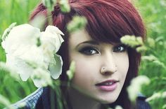 Or a double nose piercing. I'm think on the same side though. my style and clothing wish list pinboard