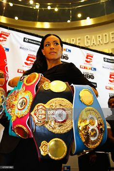 Women's Welterweight Champion Cecilia Braekhus poses with her championship Belts Bryant Jennings, Boxing Images, Professional Boxing, Cult Of Personality, World Boxing, Ufc Boxing, Boxing History, World Heavyweight Championship, Native American Girls