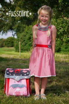 """Einschulungskleid für das Lieblingsmädchen nach """"Rike"""" von Frau Liebstes/kibadoo"""