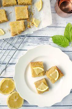 Paleo lemon bars three