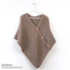 Free Beginner Crochet Poncho