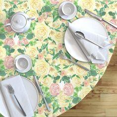 Home Decor - Round Tablecloth