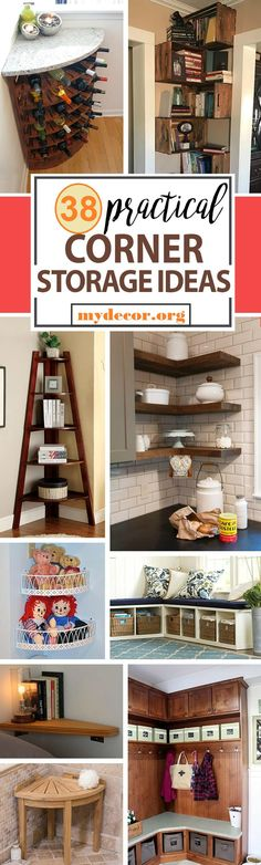 When you look into the corners of any room, there is a lot of space just waiting to be used. Many of these corner storage ideas can be accomplished with a few tools and hanging brackets. Some of them need more planning, like the built-in kitchen cabinets. When you are renovating your kitchen,...