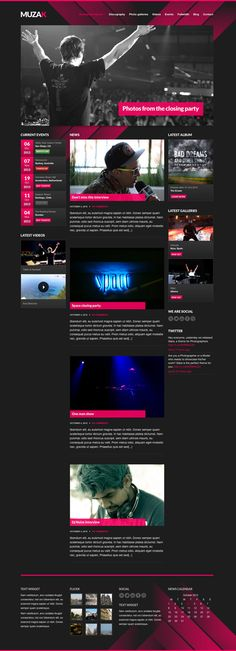 dark, music, events, video